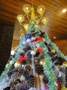 """Think Green"" Christmas Tree"
