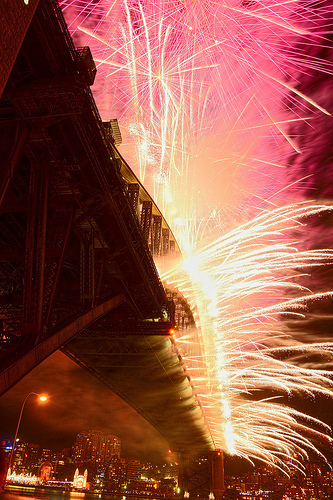 New Year 2013 at Sydney harbour bridge - Flickr