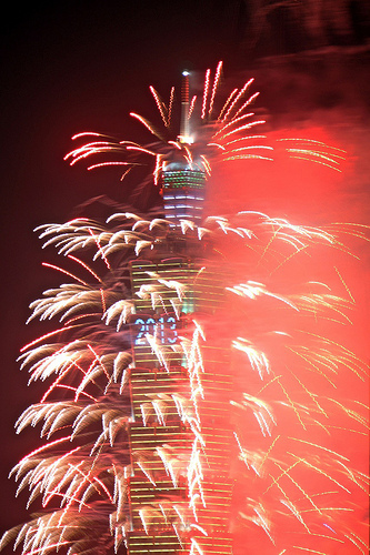 New Year 2013- Taipei Fireworks (Photo; Eton-Shu)