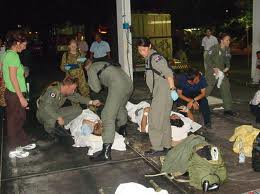 Bali Bombing in 2002 at Kuta Nightclub-over 200 dead - Net image