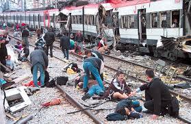 Madrid train bombing in 2004