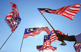 "Let's now fly only one flag ""The Jalur Gemilang"""
