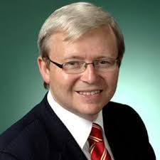Kevin Rudd - an Intelligent and charismatic ex-PM of Australia