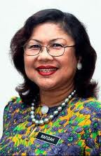 Rafidah Aziz  perceived to be brash and rude to some Wanita UMNO state members and lost the contest to Shahrizat her one-time dear Deputy.
