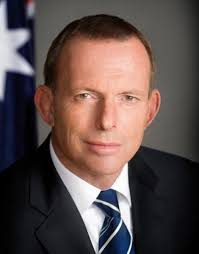 Tony Abbott - the new Prime Minister of Australia, a fresh change of political canvas.