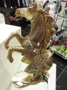 Horse figurine for equine fanatic