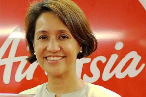 "Aireen Omar - Air Asia local CEO. By the way, who can say ""no"" to a lady?"